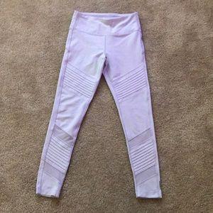 mesh athletic leggings